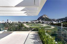 Attractive Brazilian Penthouse With Pool brazilian penthouse garden