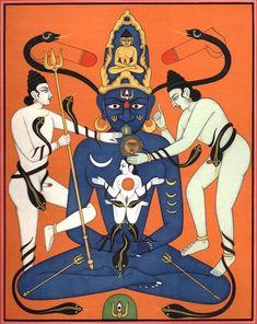 We boast an exhaustive collection of Hindu Gods & Goddess Paintings. ExoticIndia is the largest online store for Indian Art. Kali Goddess, Goddess Art, Ganesha, Dharma Yoga, Tantra Art, Apocalypse Art, Lord Vishnu Wallpapers, Esoteric Art, Shiva Art