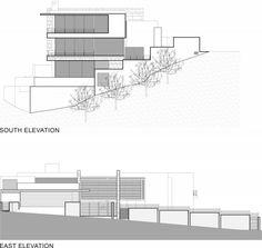 plan architectural de maison à cape town