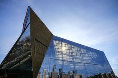 U.S. Bank Stadium and the ETFE roof made with 3M fluoropolymer. Photo courtesy Minnesota Vikings