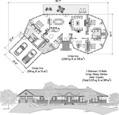 Signature Design Collection SDC-1101 (3115 sq. ft.) 3 Bedrooms, 2 1/2 Baths