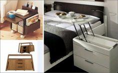 Ideas para decorar pisos pequeños con mueble multifuncional