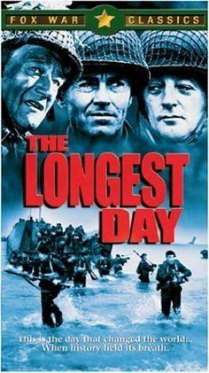 """THE LONGEST DAY"" (1962) JOHN WAYNE, HENRY FONDA, ROBERT MITCHUM"
