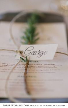 A Classic Take on a Traditional Wedding | Real Weddings | Stationery Inspiration | Photography by Yolandé Marx