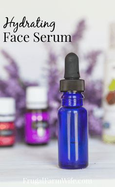 How to make your own Hydrating Facial Serum | The Frugal Farm Wife #BrownSpotsOnFace Face Serum Diy, Best Face Serum, Diy Facial Serum, Hydrating Serum, Skin Serum, Homemade Face Moisturizer, Best Face Products, Beauty Products, Facial Products