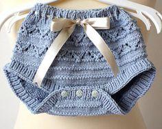 Punto (archivo pdf) pantalones de bebé - pañales cubierta (tamaños 1/3/6 meses)