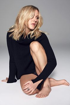 With her love of running & yoga, singer-songwriter Ellie Goulding has gained…