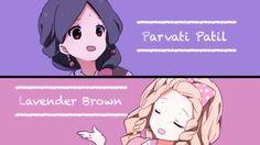 Parvati Patil & Lavender Brown