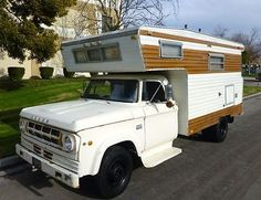 Dodge D300 Porch Model Camper.  Suprised this did not catch on -->