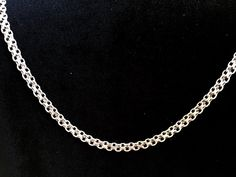 Sterling Silver 24 Bismark Chain by MyVictorianHome on Etsy