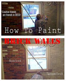 Random Colourful Painted Brick Wall.   Home Decor   Pinterest   Bricks,  Walls And Wall Ideas