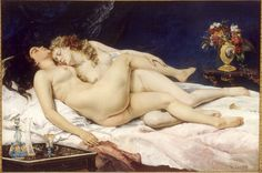""" Gustave Courbet - Sleep [1866] """