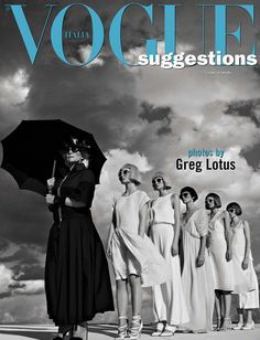 Vogue Suggestions by Greg Lotus for Vogue Italia May 2016