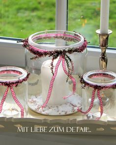 botes de cristal                                                                                                                                                     Más Candels, Candle Lanterns, Christmas Wreaths, Christmas Decorations, Xmas, Christmas Ideas, Enchanted Fairies, Baby Play, Cottage Style
