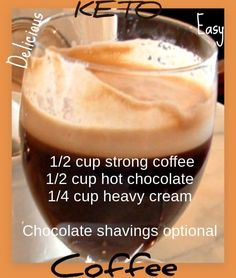 Healthy Coffee Recipe Drinks – Weight Loss Plans: Keto No Carb Low Carb Gluten-free Weightloss Desserts Snacks Smoothies Breakfast Dinner… Coffee Smoothie Recipes, Keto Coffee Recipe, Protein Smoothie Recipes, Breakfast Smoothies, Coffee Recipes, Breakfast Recipes, Lchf, Keto Foods, Almond Milk