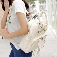Buy 'Youshine – Faux-Leather Backpack' with Free International Shipping at YesStyle.com. Browse and shop for thousands of Asian fashion items from China and more!