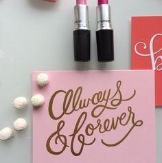 Always & forever <3