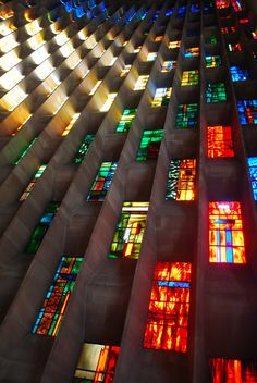 The Baptistry Window - new Coventry Cathedral - England