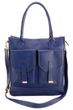 Erica Anenberg Madison Messenger » Oh my, I love the blue, what a great color!