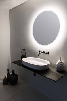 The bathroom is an essential part of the house, where it is good to take care of yourself and relax to fill with serenity. Discover our instructions for a Zen bathroom with our 8 decorating ideas: you have beautiful hours… Continue Reading → Zen Bathroom, Bathroom Basin, Bathroom Colors, Modern Bathroom, Small Bathroom, Bathroom Showers, Wash Basin Cabinet, Washbasin Design, Countertop Basin
