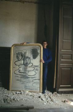Yves Saint Laurent, Paris 1980. Photo: Lord Snowdon