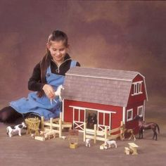 Alfa img - Showing > Big Wooden Toy Barn