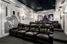 Dream Star Wars viewing room
