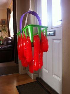 Home made slime (Guar Gum, Glycerine, Borax recipe) - from Creative Dad