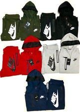 1301245ab9 Nike Men s Sweat Suit Brand New Gray Full Zip Hoodie Joggers Complete Set  Nike Sweat Suits