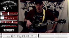 "Como tocar ""Super Collider"" (Megadeth) by GuitarFiero"