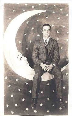 Vintage Man in the Moon Vintage photos