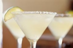 Cocktail recipe for a Cadillac Margarita, a mixed drink of top-shelf tequila, Grand Marnier and lime juice.