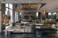 One Easy Trick for Luxury Hotel and Lobby Design Inspiration Uncovered - neweradecor Luxury Home Decor, Luxury Interior Design, Luxury Homes, Interior Ideas, Interior Architecture, Living Room Designs, Living Room Decor, Modern House Design, Luxury Living