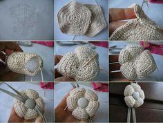 ... flores flores crochet pin cushion flores tejidas crochet pattern