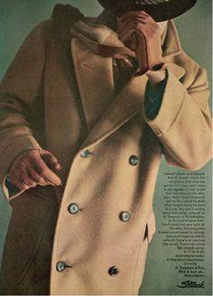 Farb-und Stilberatung mit www.farben-reich.com Ivy League - camel overcoat - never out of fashion.  http://www.annabelchaffer.com/categories/Gentlemen/