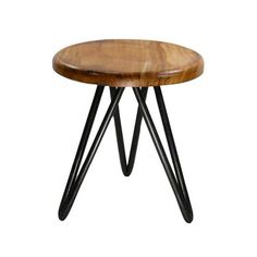 The Harbor employs reclaimed wood with varying finishes, along with iron hairpin legs to create a perfect mid-century base. Let the stool add the finishing touch to a contemporary, nautical, or rustic