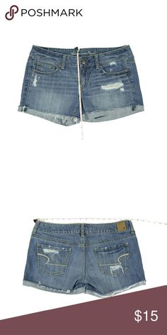 Denim shorts American Eagle jeans shorts.Used but in good condition. American Eagle Outfitters Shorts Jean Shorts
