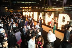 La Maison Canton Road, Hong-Kong - Special Opening Party - Night view of the Harbour