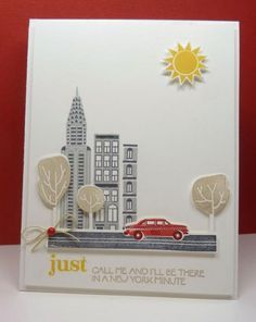 New York minute by redlynny - Cards and Paper Crafts at Splitcoaststampers
