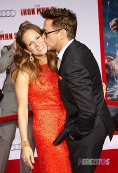 and Susan Downey at the Los Angeles premiere of 'Iron Man held at the TCL Chinese Theater in Hollywood, Los Angeles. - Arrivals at the 'Iron Man Premiere 2 Susan Downey, I Robert, Iron Man 3, Iron Man Tony Stark, Super Secret, Influential People, Cute Couple Pictures, Downey Junior, Robert Downey Jr