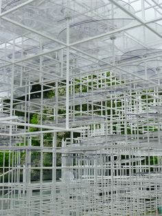 The layers in the Serpentine Pavilion 2013