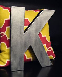 Cheap alternative to metal letters