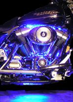 We specialize in show-quality motorcycle LED lights for bikes of all makes and models.