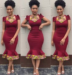 African Attire, African Wear, African Dress, Ankara Gown Styles, Ankara Dress, Traditional Wedding Attire, Traditional Outfits, African Print Fashion, African Fashion Dresses