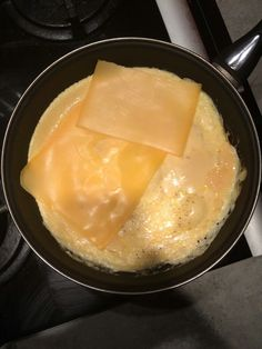 Lekker eitje met jong belegen kaas! Jammie..
