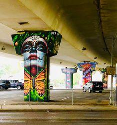 Street art is dope art art graffiti art quotes Murals Street Art, 3d Street Art, Street Art Melbourne, Urban Street Art, Amazing Street Art, Street Art Graffiti, Street Artists, Urban Art, Amazing Art