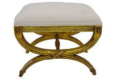 Giltwood  Bench on OneKingsLane.com