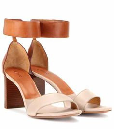 Leather sandals | Chloé
