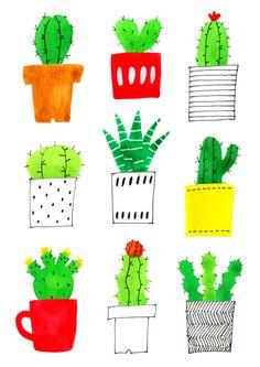 'Cactus' by Bonbonohri