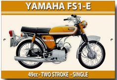 for sale online Vintage Motorcycles, Cars And Motorcycles, Moped Scooter, Van Car, Japanese Motorcycle, Vintage Metal Signs, Classic Motors, Super Bikes, Custom Bikes
